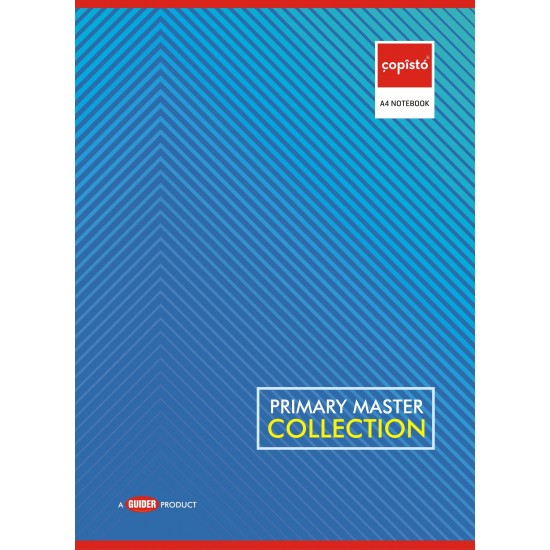 Copisto A4 Student Notebook 29.7x21cm Four Line 108 Pages