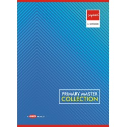 Copisto A4 Student Notebook 29.7x21cm Four Line Interleaf 108 Pages