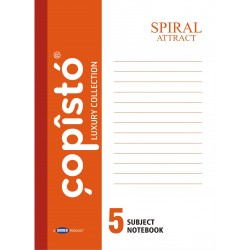 Copisto A4 Spiral 29.7x21cm Ruled 304 Pages