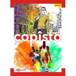 Copisto Gold A4 Notebook 29.7x21cm Unruled 172 Pages