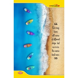 Writonic Long Notebook 27x17cm Single Line 240 Pages