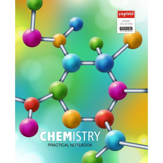 Copisto Hard Bound Practical Notebook 21x27cm Chemistry 112 Pages