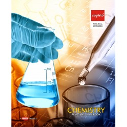 Copisto Practical Notebook 21x27cm Chemistry 96 Pages