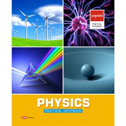 Copisto Practical Notebook 21x27cm Physics 96 Pages