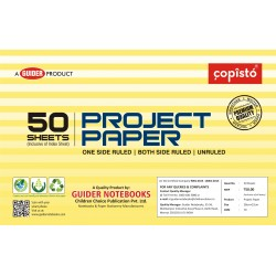 Copisto Project Paper 28x22cm One Side Ruled 50 Sheets