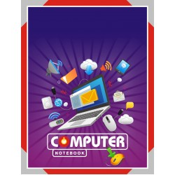 Computer Activity Book 22x28cm 88 Pages (A Grade)