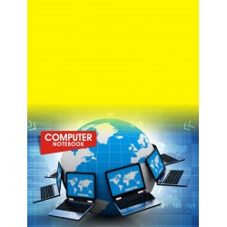 Computer Activity Book 22x28cm 80 Pages (B Grade)